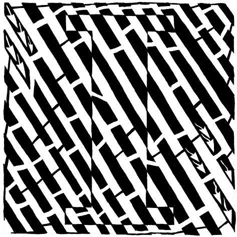 Maze of Uppercase I Poster