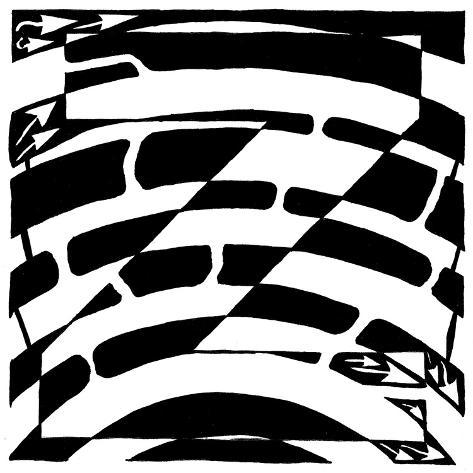 Maze of Uppercase Z Poster