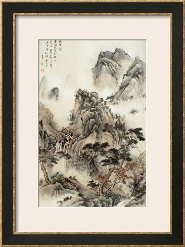Beyond the Village Framed Art Print