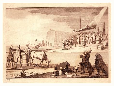 York Town Giclee Print