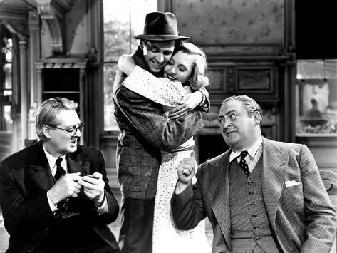 You Can't Take It With You, Lionel Barrymore, James Stewart, Jean Arthur, Edward Arnold, 1938 Foto
