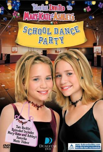 You're Invited to Mary-Kate & Ashley's School Dance Poster