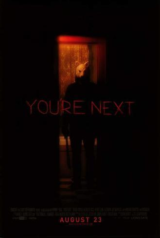 You're Next Movie Poster マスタープリント