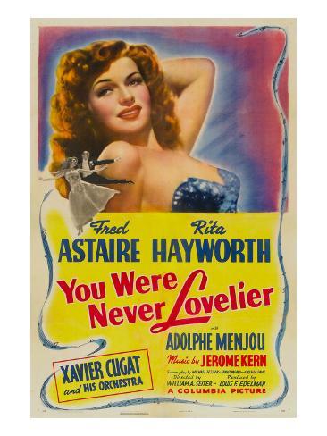 You Were Never Lovelier, Rita Hayworth, 1942 Foto