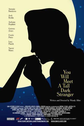 You Will Meet a Tall Dark Stranger Masterprint