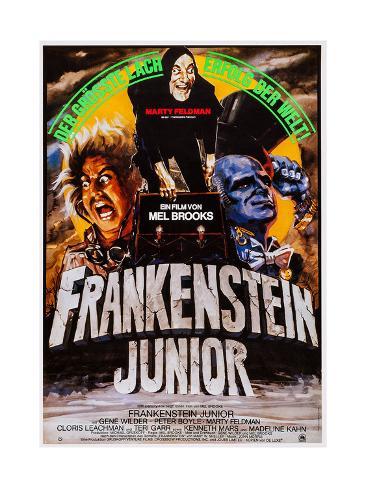 Young Frankenstein, (aka Frankenstein Junior), 1974 Impressão giclée