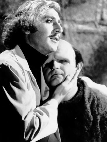 Young Frankenstein, Gene Wilder, Peter Boyle, 1974 Photo