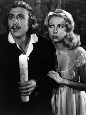 Young Frankenstein, Gene Wilder, Teri Garr, 1974 Photo