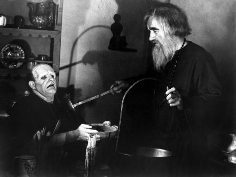 Young Frankenstein, Peter Boyle, Gene Hackman, 1974 Photo