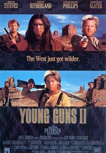 Young Guns Ii Double-sided poster