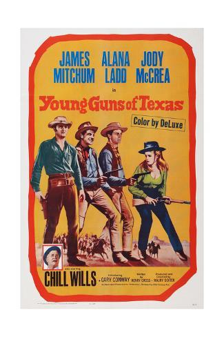 Young Guns of Texas Giclee Print