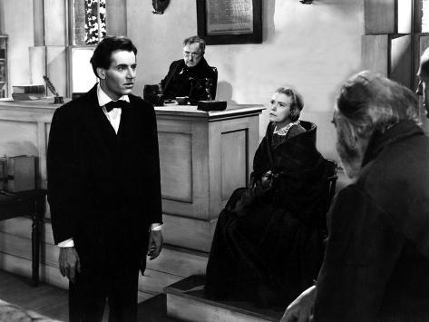 Young Mr. Lincoln, Henry Fonda, Spencer Charters, Alice Brady, 1939 Foto