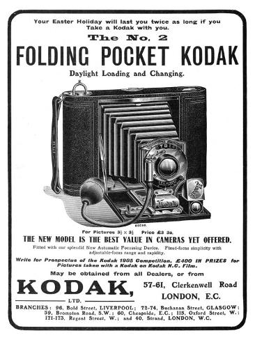 Your Easter Holiday Will Last You Twice as Long if You Take a Kodak with You Photographic Print