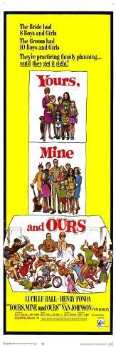 Yours, Mine and Ours, 1968 Konstprint