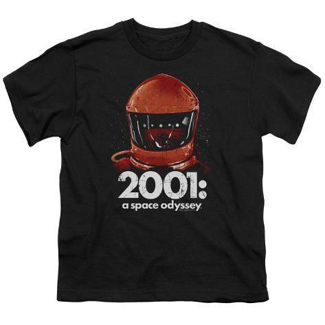 Youth: 2001 A Space Odyssey/Red Space Helmet Kids T-Shirt