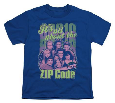 Youth: 90210-Zip Code Kids T-Shirt