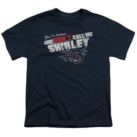 Youth: Airplane - Don't Call Me Shirley Kids T-Shirt