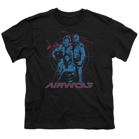 Youth: Airwolf-Graphic Kids T-Shirt