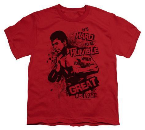 Youth: Ali-Hard To Be Humble T-Shirt