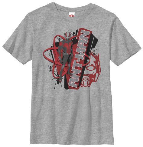 Youth: Ant-Man- Atomic Logo Kids T-Shirt