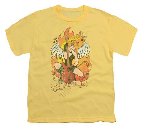 Youth: Archie Comics-Josie Tattoo Kids T-Shirt