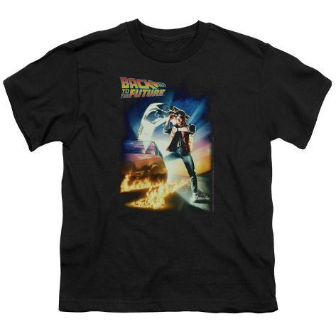 Youth: Back to the Future - BTTF Poster Kids T-Shirt