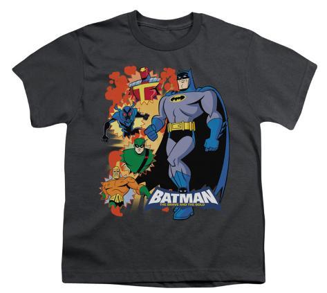 Youth: Batman BB-Batman & Friends Kids T-Shirt