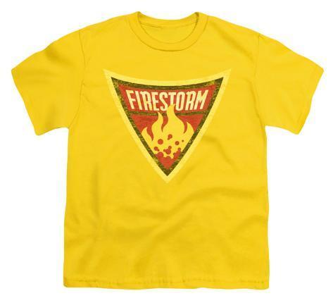 Youth: Batman BB-Firestorm Shield Kids T-Shirt