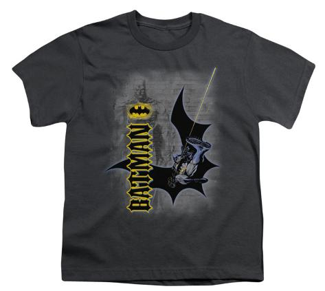 Youth: Batman - Swing Into Action Kids T-Shirt