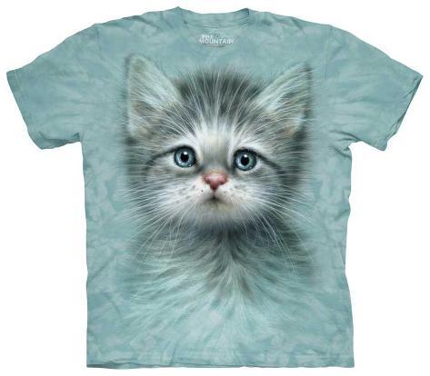 Youth: Blue Eyed Kitten Kids T-Shirt