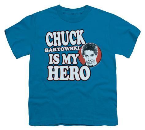 Youth: Chuck - Chuck is my Hero Kids T-Shirt