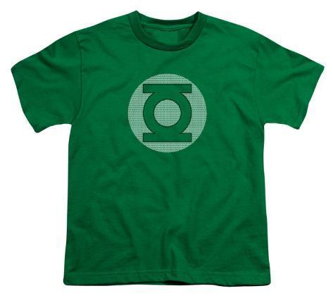 Youth: DC Comics - GL Little Logos Kids T-Shirt