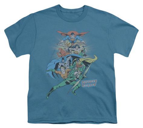 Youth: DC Comics - In League Kids T-Shirt