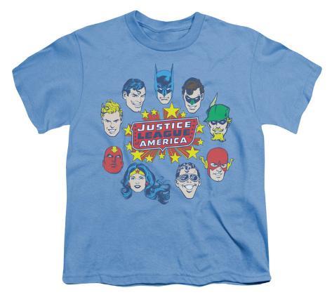 Youth: DC Comics - Justice Head Circle Kids T-Shirt