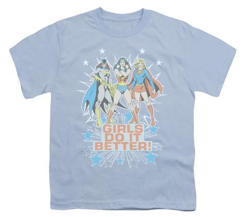 Youth: DC-Girl's Do It Better Kids T-Shirt