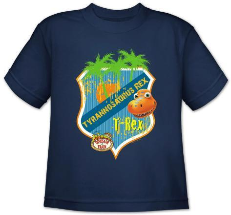 Youth: Dinosaur Train - T Rex Shield T-Shirt