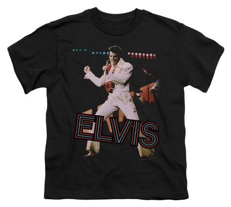 Youth: Elvis - Hit the Lights Kids T-Shirt