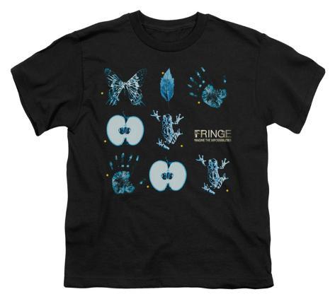Youth: Fringe - Fringe Symbols Kids T-Shirt