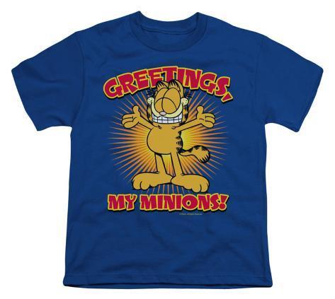 Youth: Garfield - Minions Kids T-Shirt