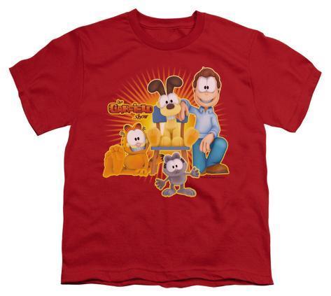 Youth: Garfield - Say Cheese Kids T-Shirt