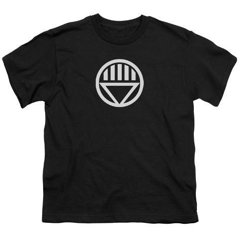 Youth: Green Lantern - Black Lantern Logo Kids T-Shirt