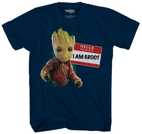 Youth: Guardians of the Galaxy Vol. 2 - My Name is Groot Kids T-Shirt