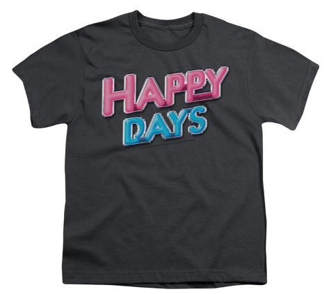 Youth: Happy Days - Logo Kids T-Shirt