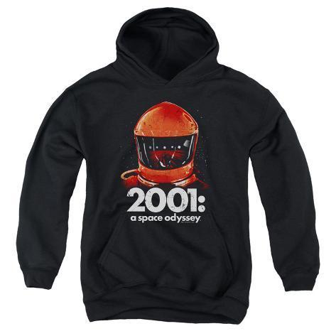 Youth Hoodie: 2001 A Space Odyssey/Red Space Helmet Pullover Hoodie