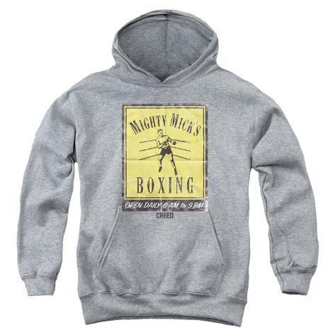 Youth Hoodie: Creed- Micks Poster Pullover Hoodie