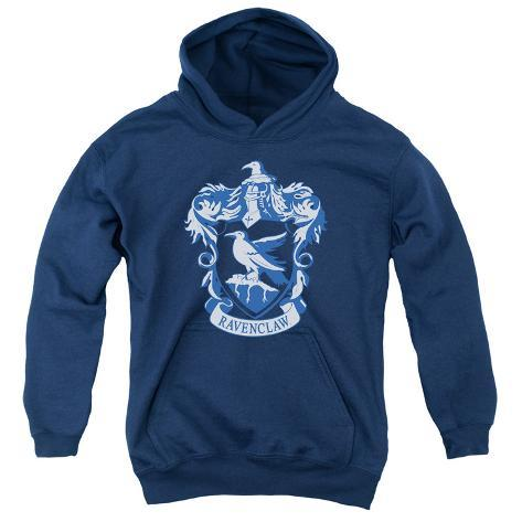 Youth Hoodie: Harry Potter- Ravenclaw Crest Pullover Hoodie