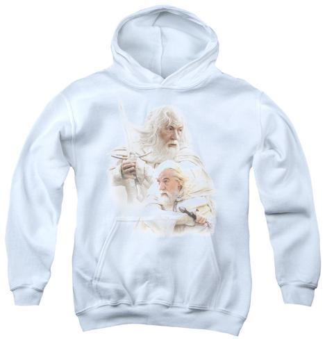Youth Hoodie: Lord of the Rings - Gandalf The White Pullover Hoodie