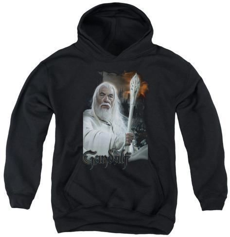 Youth Hoodie: Lord of the Rings - Gandalf Pullover Hoodie