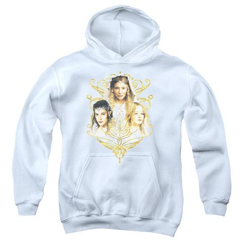 Youth Hoodie: Lord of the Rings - Women Of Middle Earth Pullover Hoodie