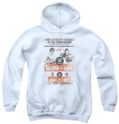Youth Hoodie: Rocky - Rocky vs Clubber Poster Pullover Hoodie